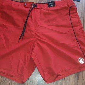 Ripzone Basic Swim Short color Red Men's size 2XL